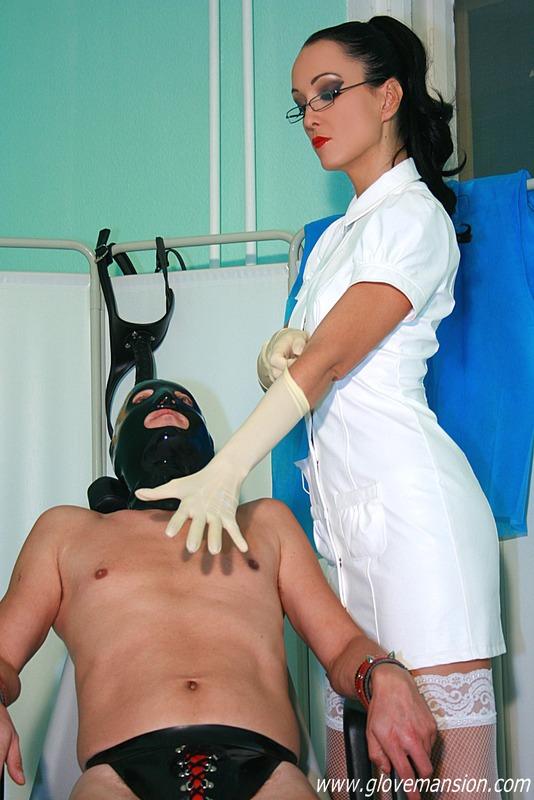 Watch nasty nurse in bondage